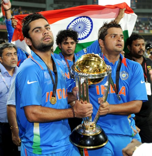Kohli and Raina