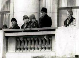 Nicholae Ceausescu and wife are executed