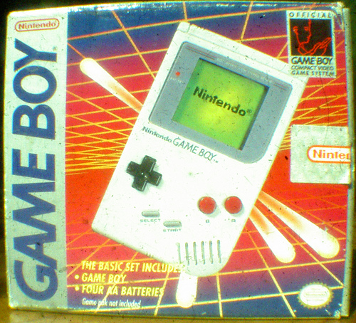 The original Nintendo GameBoy is released