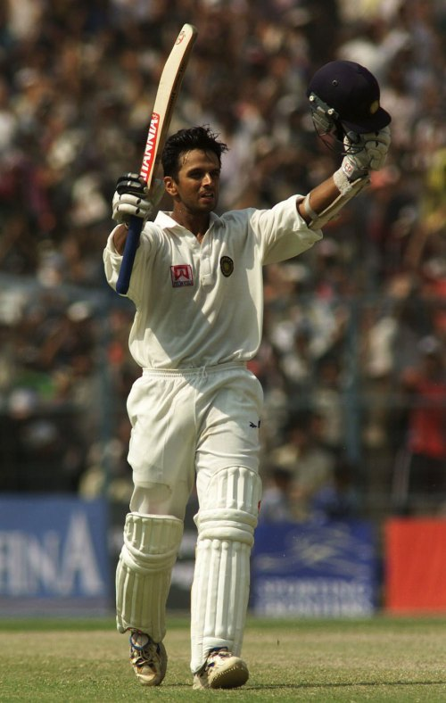 Dravid at Eden Gardens, 2001